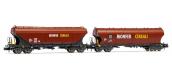 HN6469 - Pack de 2 wagons trémie