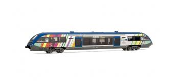 Arnold HN2101 Autorail X 73904, SNCF, Alsace