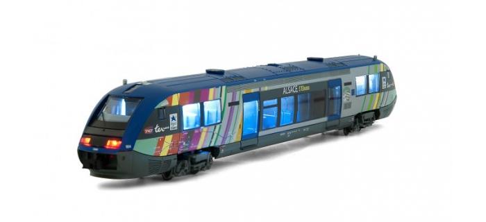 Arnold HN2101 Autorail X 73904, SNCF, Alsace modelisme ferroviaire