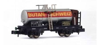 HN6031 Wagon citerne à essieux des CFF