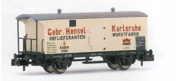 HN6076 Wagon isothermes, transport de viandes,