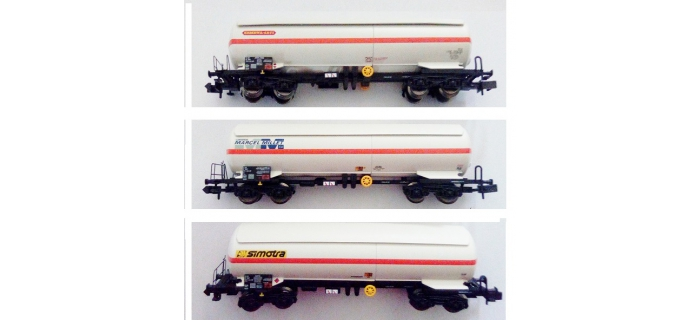 Modélisme ferroviaire : HORNBY HN6387 - Set de 3 wagons citerne SNCF