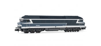 Modélisme ferroviaire : ARNOLD HN2382S - Locomotive diesel CC 72054 bleu logo Nouille EpIV-V SNCF - DCCC sonorisée