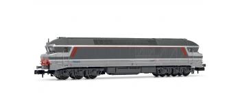 Modélisme ferroviaire : ARNOLD HN2383 - Locomotive diesel CC 72040 Multi-Service logo Casquette Ep.V SNCF