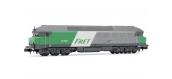 Modélisme ferroviaire : ARNOLD HN2385 - Locomotive diesel CC 472083 FRET logo Casquette Ep.V SNCF