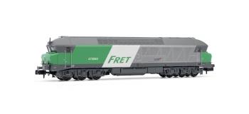 Modélisme ferroviaire : ARNOLD HN2385S - Locomotive diesel CC 472083 FRET logo Casquette Ep.V SNCF DCC SON