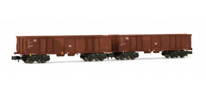 Set de 2 wagons tombereau EAOS DB