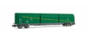 wagons à parois coulissantes type Habis de la RENFE