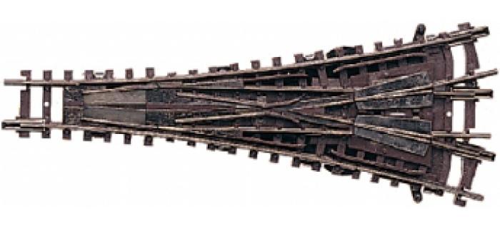 Arnold HN8018 Aiguillage manuel 3 voies 111mm, 15°