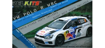 Maquettes : BELKITS BEL005 - Volkswagen Polo R WRC 2013