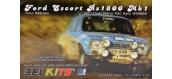 Maquettes : BELKITS BEL006 - Ford Escort RS1600 RAC 1973