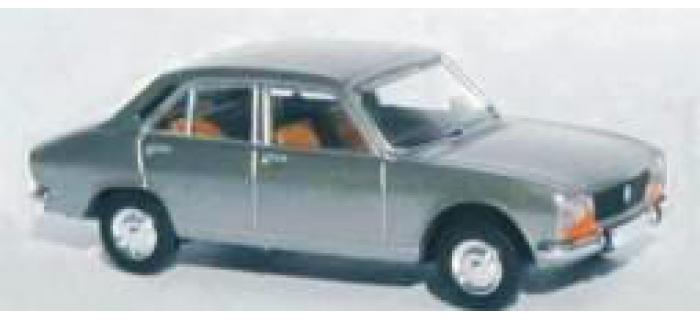 Train électrique :SAI 2090 - Peugeot 504, gris métallisé