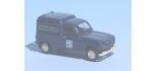 Modélisme ferroviaire : SAI 2442 / BRE14741 - Renault 4 fourgonnette 1961, SNCF