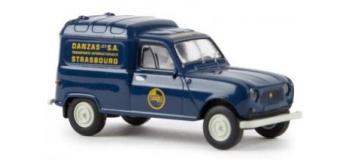 Modélisme ferroviaire : SAI 2444 / BRE14740 - Renault 4 fourgonnette 1961, DANZAS STRASBOURG