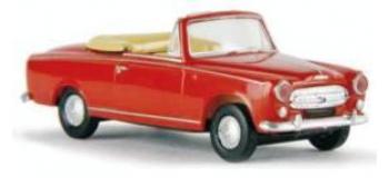 Train électrique : SAI 2530 / BRE 29150 - Peugeot 403 Cabriolet, ouvert, rouge