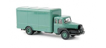SAI 2952.1 - Camion Unic ZU 122 Izoard, vert et noir - Brekina