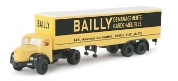 SAI 2551 / BRE 85408 - Semi-remorque Berliet TLR8 Tolé, Bailly - Brekina