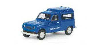 SAI 2430 / BRE 14719 - Renault 4 Fourgonnette 1961 - Brekina