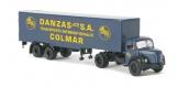 SAI 2552 / BRE85406 - Camion semi remorque Berliet TLR8 Tolé - Brekina