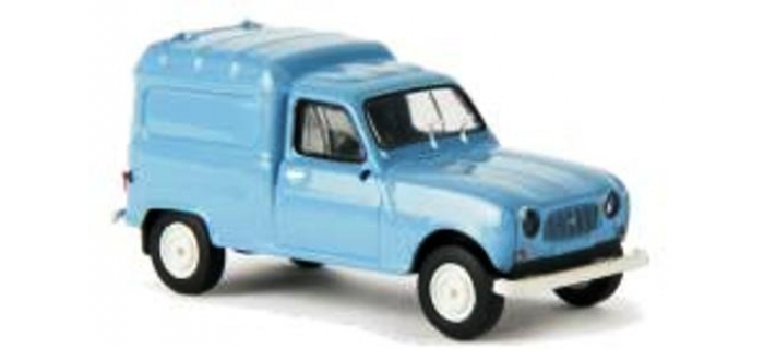 Train électrique : SAI 2404 / BRE 14711 - Renault 4 Fourgonnette 1961, bleu