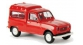 Train électrique : SAI 2410 / BRE 14706 - Renault 4 Fourgonnette 1961, vitrée rouge