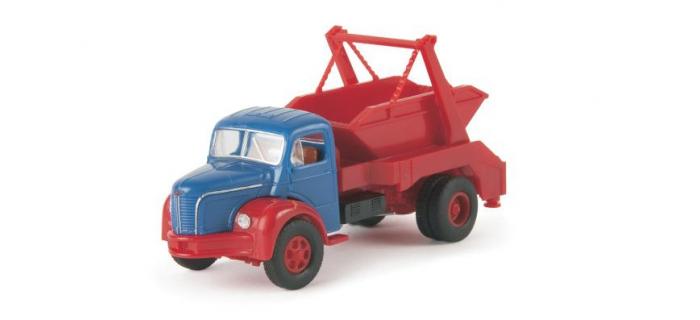 SAI 2665.2 / BREKINA 85393 - Camion Berliet GLR8 benne e à déchets