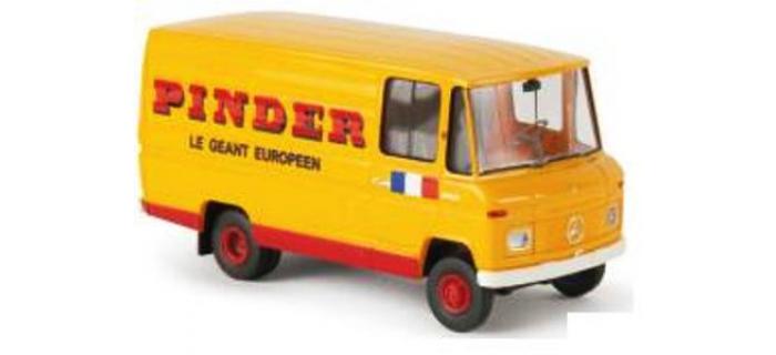 Train électrique : SAI 3857 / BRE 36823- Fourgon MB L 406 Pinder