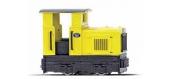 Modélisme ferroviaire : BUSCH BU12110 - Locotracteur voie étroite à cabine fermée