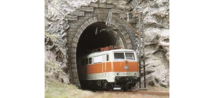 modelisme ferroviaire BUSCH 8191 ENTREE DE TUNNEL ELECTRIQUE