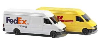 Modélisme ferroviaire : BUSCH BUE8304 - Mercedes Sprinter Camionette