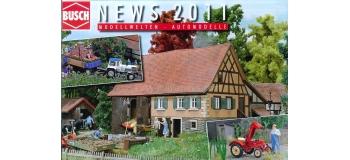busch 999903 Dépliant BUSCH nouveautés 2011