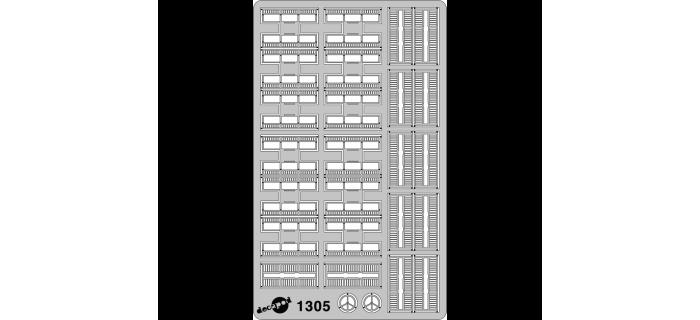 DECAPOD DECA1305 - Porte-bagages pour VSE Roco