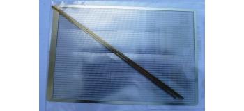 DECAPOD DECA2835 - Clôture moderne hauteur 2m avec piquets