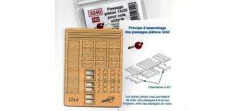 DECAPOD DECA3240 - Passage piéton 1m20 pour voie unique