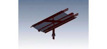 DECA2632 - Abri parapluie moderne : 1 élément intermédiaire - Decapod