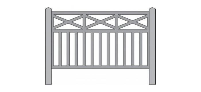 DECA2755 - Barrières en béton modèle Lisieux - Decapod