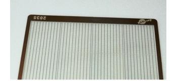 DECA2835 - Clôture moderne hauteur 2m avec piquets - Decapod