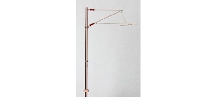 DECA3601.06 - 6 poteaux caténaires simples, tension ou compression - Decapod
