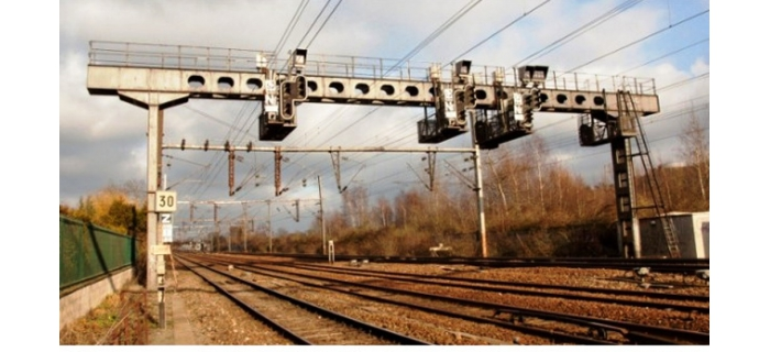 DECA4126 - Portique soudé pour 6 voies (poutre de 30m) - Decapod
