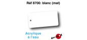 DECA8700 - Blanc (mat), Peinture acrylique à l'eau - Decapod