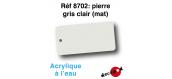 DECA8702 - Pierre gris clair (mat), Peinture acrylique à l'eau - Decapod