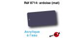 DECA8714 - Ardoise (mat), Peinture acrylique à l'eau - Decapod