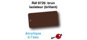 DECA8726 - Brun isolateur (brillant), Peinture acrylique à l'eau - Decapod
