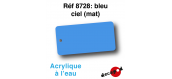 DECA8728 - Bleu ciel (mat), Peinture acrylique à l'eau - Decapod