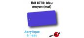 DECA8778 - Bleu moyen (mat), Peinture acrylique à l'eau - Decapod