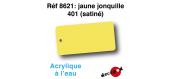 DECA8621 - Jaune jonquille 401 (satiné), Peinture acrylique à l'eau - Decapod