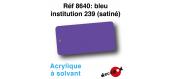 DECA8640 - Bleu institution 239 (satiné), Peinture acrylique à l'eau - Decapod