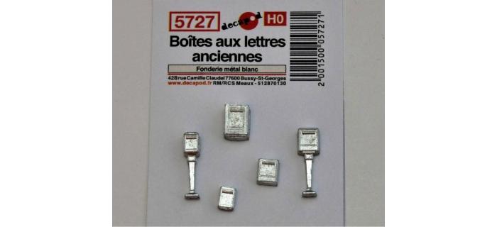 Modélisme ferroviaire : DECAPOD DECA5727 - Boîtes aux lettres anciennes