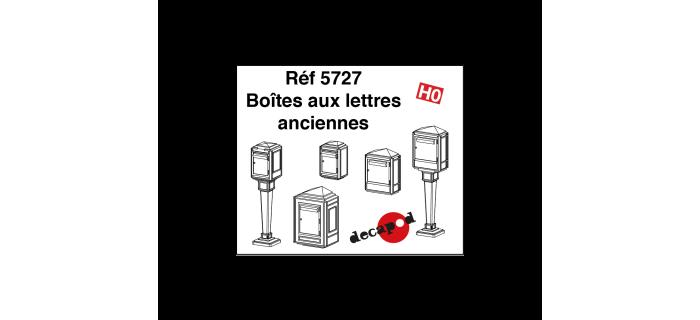 DECAPOD DECA5727 - Boîtes aux lettres anciennes