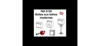 DECAPOD DECA5728 - Boîtes aux lettres modernes